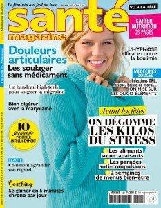 Santé Magazine Décembre 2017 n°504 Clarisse Nénard