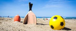 Cet été, à la plage, profitez en pour bouger et faire du sport