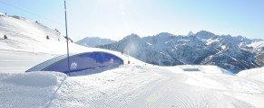 Les sports d'hiver pendant les vacances de Février à Montgenèvre (Hautes-Alpes)