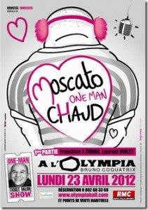 Moscato fait son One Man Chaud à l'Olympia lundi 24 avril dans Bons Plans attachment-211x300