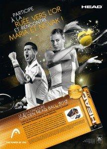 Participez à la ruée vers l'or et rencontrez Maria et Novak dans Bons Plans Golden_HEAD_Ball_AD_FR-215x300