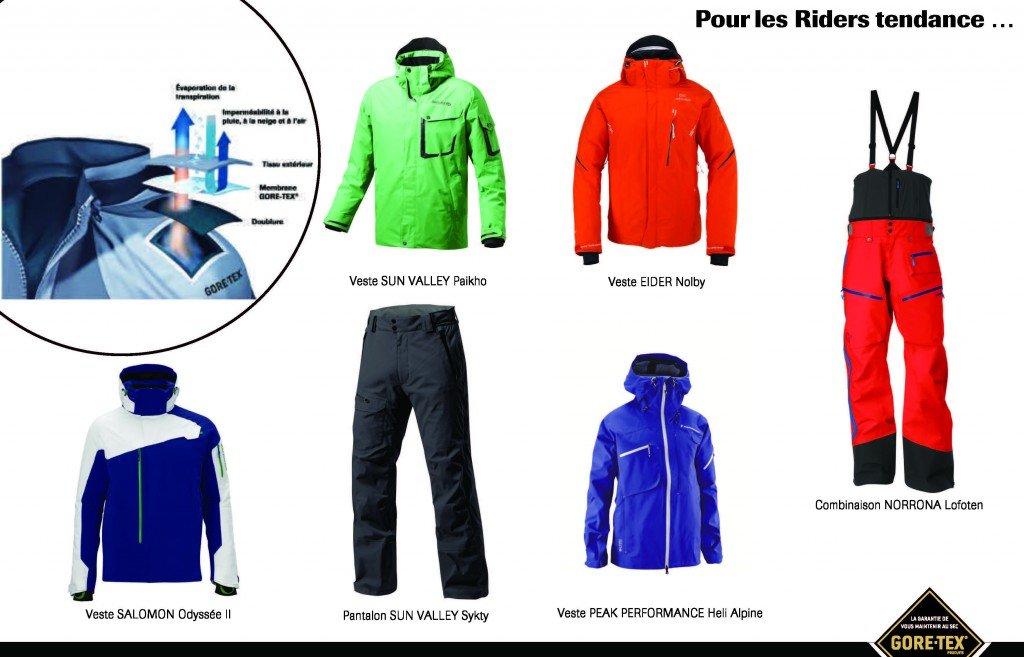 SPORT WEAR - GORE-TEX® : Protection, confort et style sur les pistes dans Shoppez les tendances.... cp_gore-tex_ski_mode_page_31