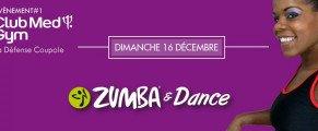 Zumba & Dance au CMG le 16 décembre!