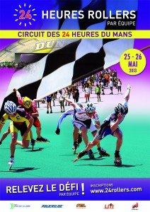 Les 24 Heures Rollers, le plus grand rassemblement européen dans Activitées physiques affiche-a4-hd1-212x300