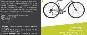 Connaissez-vous le vélo fitness