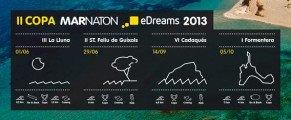« MARNATÓN Cup eDreams 2013 », un défi de natation extrême en pleine mer sur l'île de Formentera