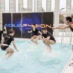 Aquafusion- trampoline aqua 3