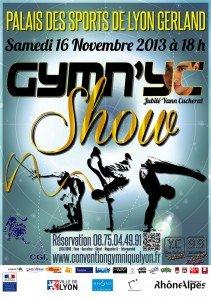 Gymn'YC Show Jubilé Yann Cucherat : la gym mondiale et les sports artistiques et acrobatiques sont en fête ! dans À ne pas manquer - Save The Date! affichegymnycshow-211x300