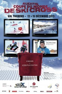 Affiche Coupe du Monde Skicross 2013_VALTHORENS