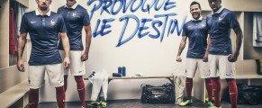 NIKE #Tenue de l'équipe de France de football pour le Brésil: une fierté nationale