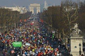 MARATHON DE PARIS 2013 - 07/04/2013..PHOTO ERIC VARGIOLU