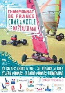 Affiche_SJM_Champ_France_Char_A_Voile_2014