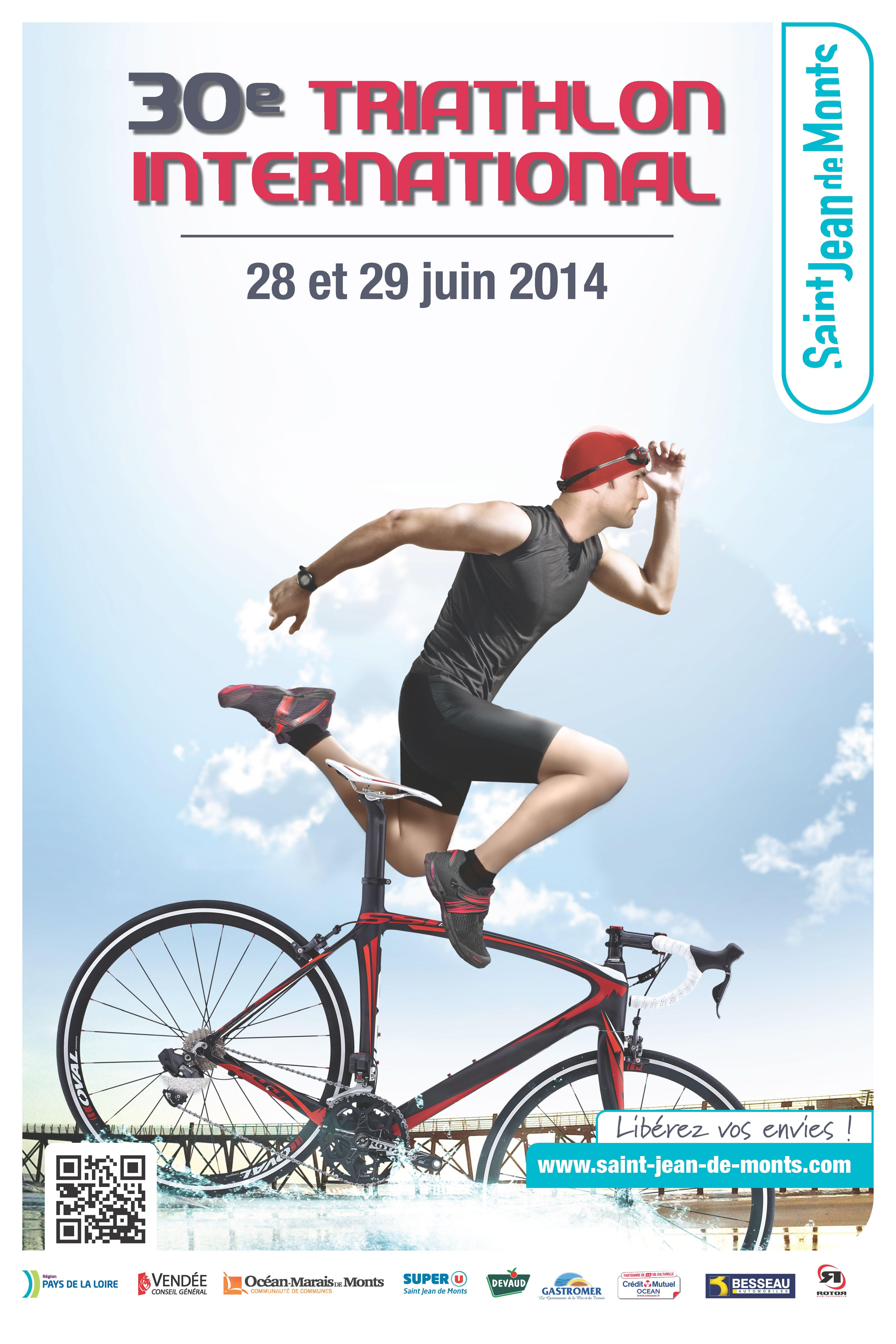 30 232 me triathlon international de jean de monts vend 233 e les 28 29 juin 2014 tous