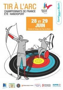 Affiche_2014-Champ_France_Handisport_Tir_A_L_Arc