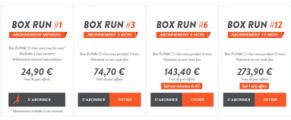 RUN & CO : la 1ère box sport spécialisée en running !