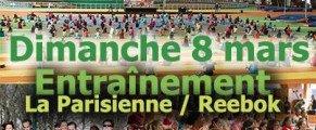 Entraînement La Parisienne Dimanche 8 mars à l'INSEP!