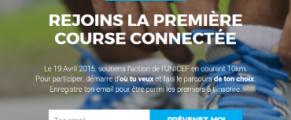 UNICEF Heroes Day, la première course connectée au monde !