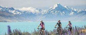 Découvrez la Nouvelle Zélande à vélo…