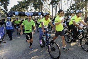 Lucie Decosse Run&BikeSolidaire 2015