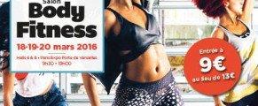Salon Body Fitness Paris 2016, c'est parti : la billetterie est ouverte !