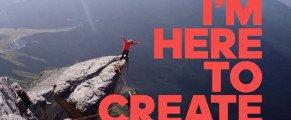 «I'm Here to Create/je vis pour créer», la nouvelle série d'Adidas.
