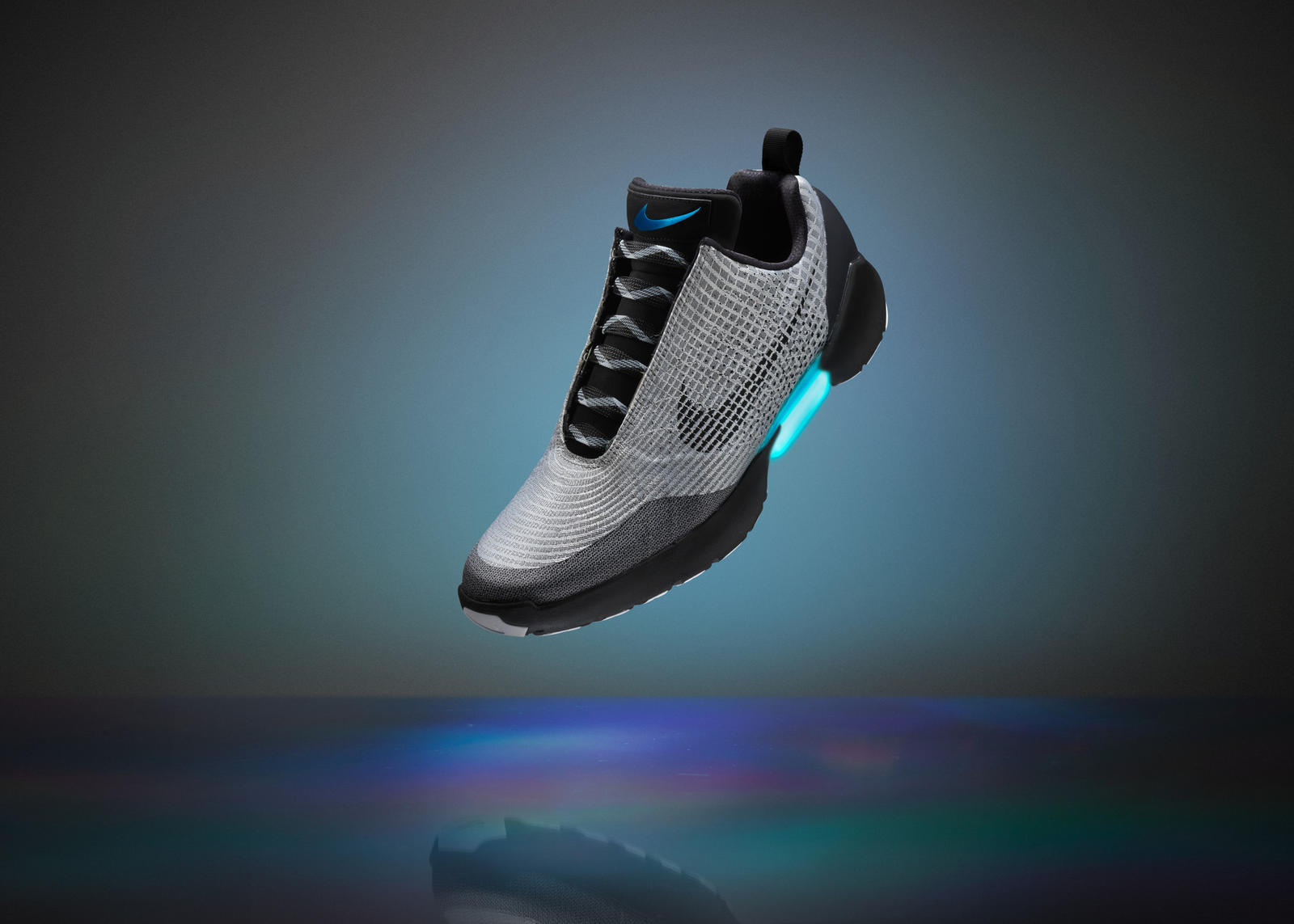 newest 5f561 0ed4f Nike HyperAdapt 1.0 FY16 INNO SNOWCAP SILVER HERO 0029 rectangle 1600