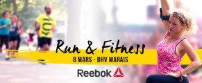 8 mars, 1er Run & Fitness La Parisienne / Reebok
