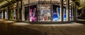 Nike ouvre sous la Canopée du nouveau forum des Halles
