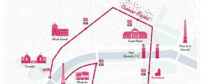 La Parisienne, le parcours 2016