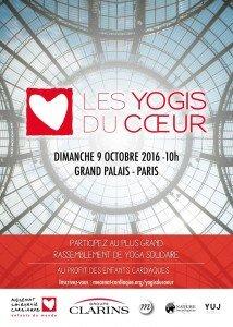 Les Yogis du Coeur au Grand Palais dimanche 9 octobre au profit de Mécénat Chirurgie Cardiaque