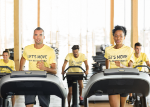 "technogym ""Let's move for a better world"" 2017"