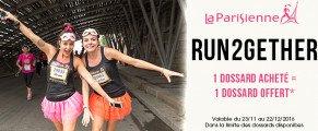 Run2Gether l'offre spéciale Noël La Parisienne