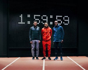Breaking2 nouveau défi de Nike