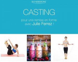 Slendertone France Julie Ferrez
