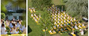 Stages de yoga au Trianon Palace Versailles